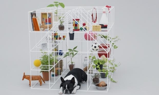 Proyecto Architecture for dogs. Sou Fujimoto