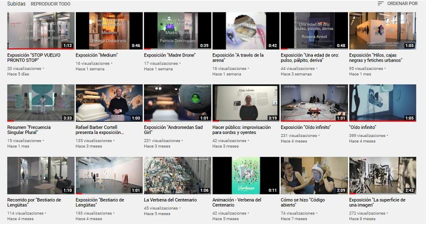 CentroCentro en youtube