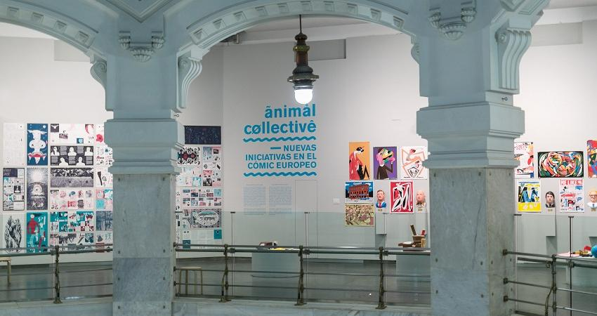 "Exhibition ""Animal Collective"". 2016"