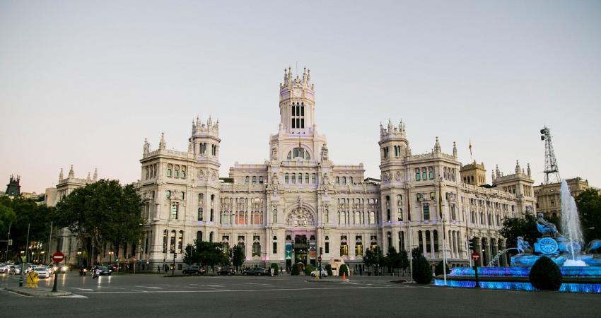 Palacio de Cibeles. Photo: Lukasz Michalak